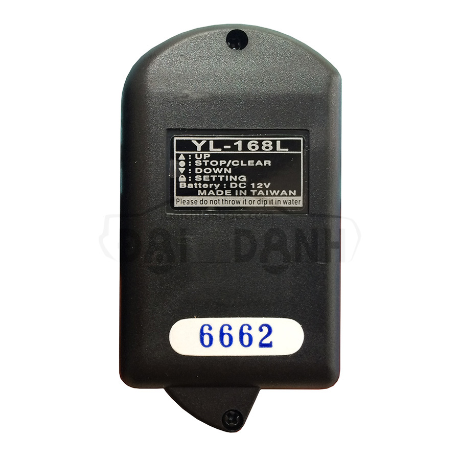 Remote cửa cuốn YL-168 R