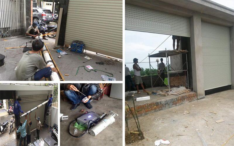 Thợ sửa chữa cửa cuốn tại Quận 2