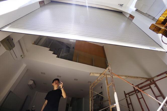 Thợ sửa chữa cửa cuốn tại Quận Bình Tân