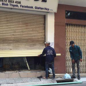 Thợ sửa cửa cuốn tại Tphcm