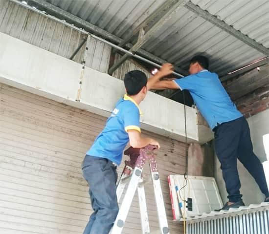Thợ sửa cửa cuốn tại Quận 12