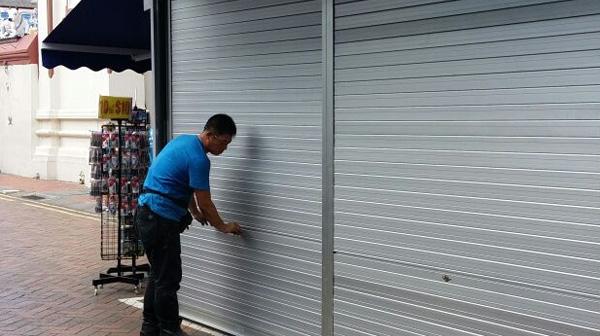 Sửa chữa cửa cuốn phường 11 quận Bình Thạnh giá rẻ