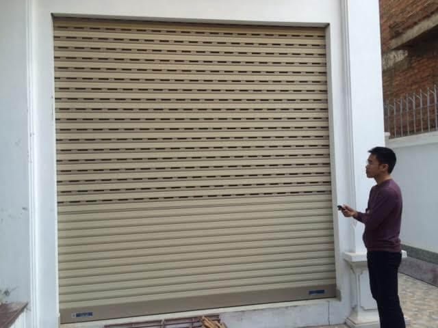 Sửa cửa cuốn phường 13 Quận Bình Thạnh