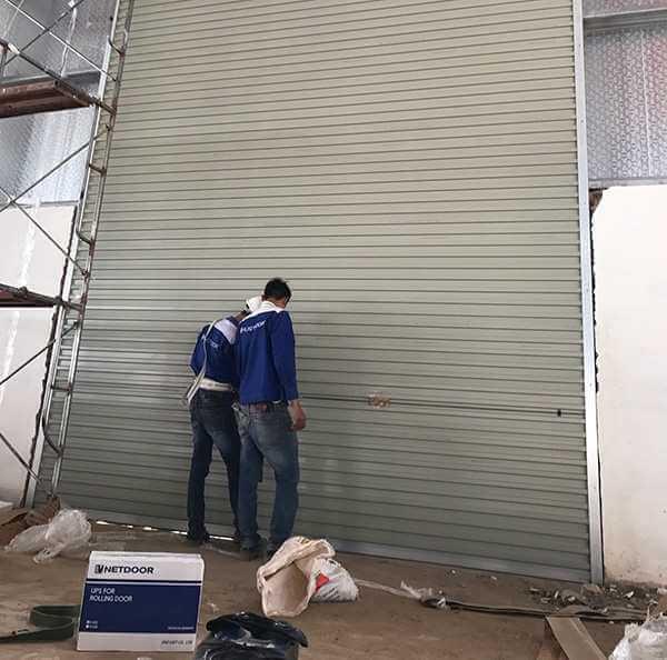 Sửa cửa cuốn tại phường 17 Quận Bình Thạnh