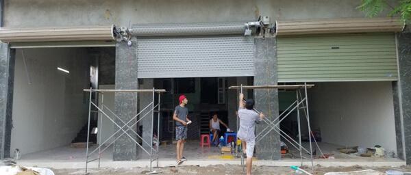 Sửa cửa cuốn phường 1 Quận Bình Thạnh giá rẻ