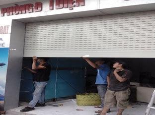 Sửa chữa cửa cuốn phường 1 Quận Tân Bình giá rẻ