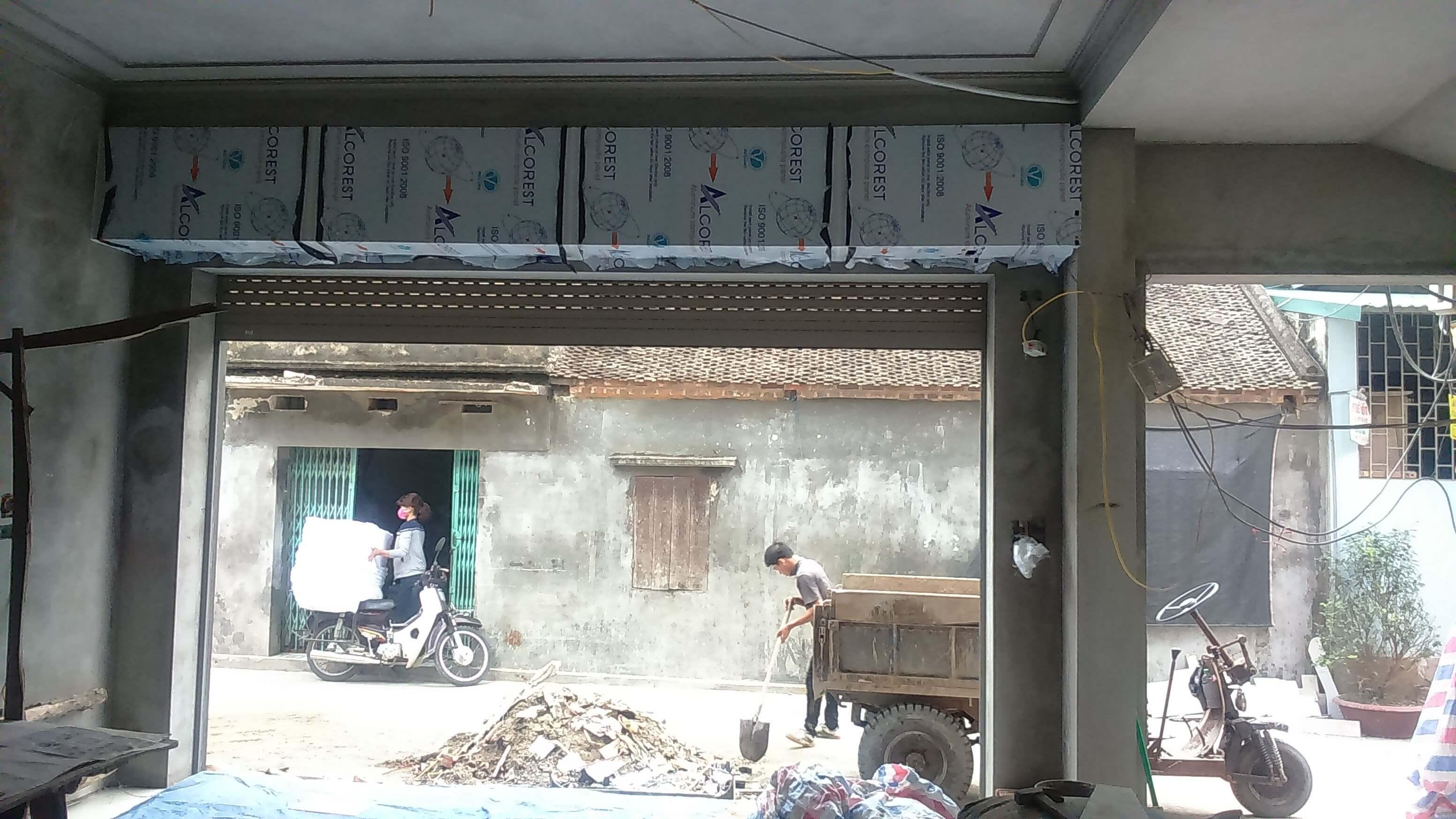 Sửa cửa cuốn phường 21 Quận Bình Thạnh
